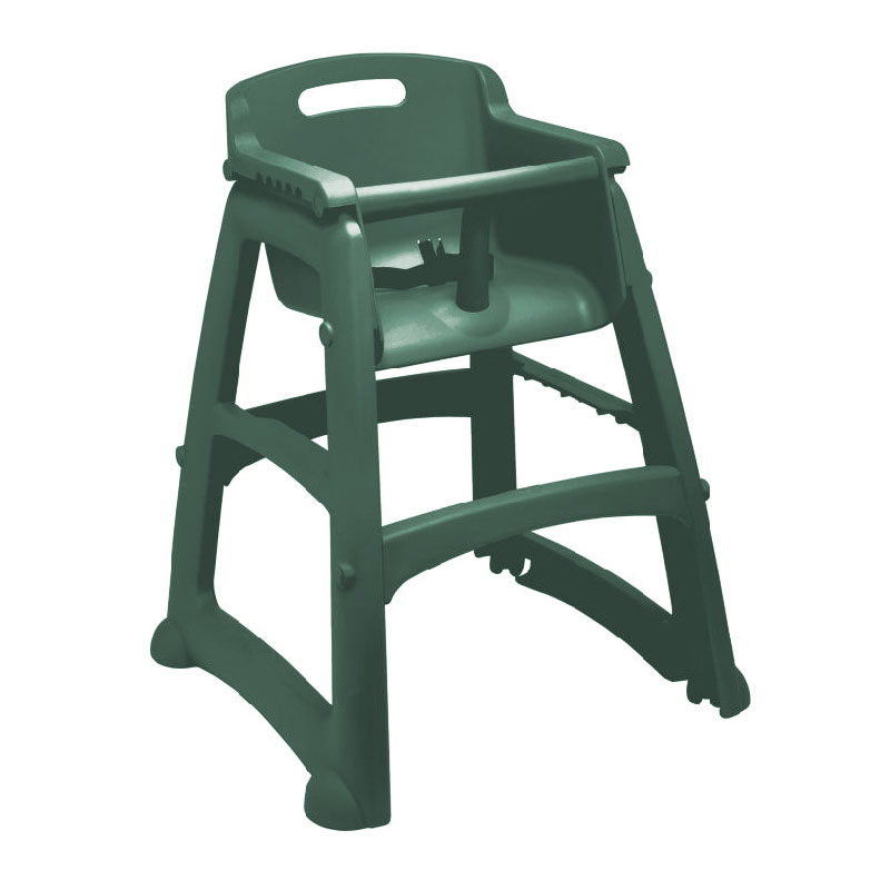 Rubbermaid FG780608DGRN Sturdy Chair Youth Seat - Green