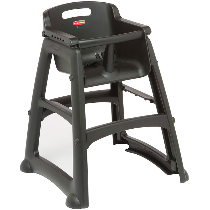 Rubbermaid FG781408BLA Sturdy Chair Youth Seat - Safety Harness, Bl