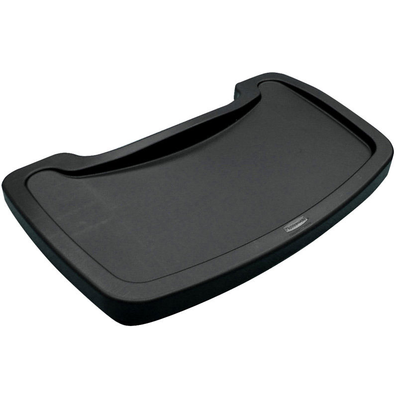 Rubbermaid FG781588BLA Sturdy Chair Youth Seat Tray - Black