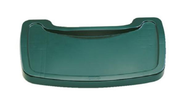 Rubbermaid FG781588DGRN Sturdy Chair Youth Seat Tray - Dark Green