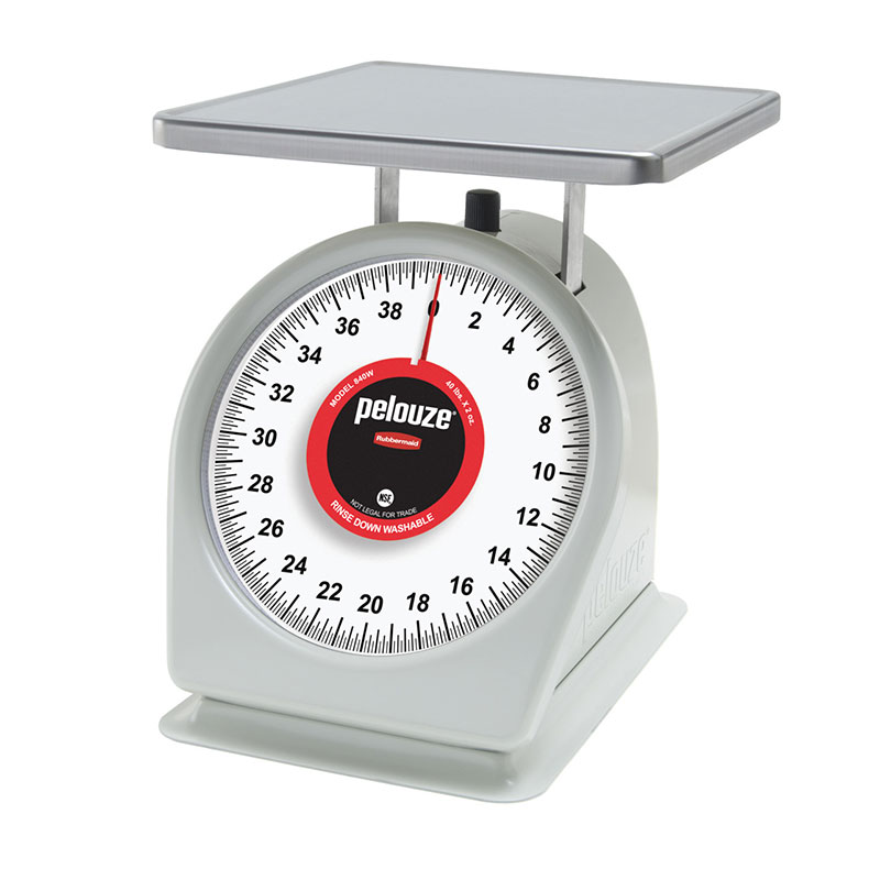 Rubbermaid FG840W Pelouze Portion Scale -