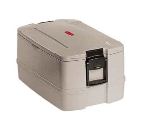 Rubbermaid FG940700PLAT CaterMax 50 Insulated Carrier - Four Pan, Platinum