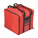 Rubbermaid FG9F3900RED ProServe Pizza Catering Bag - 19-3/4x19-3/4