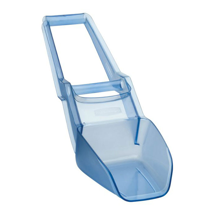 Rubbermaid FG9F5200TBLUE 120-oz Scovel Ice Shovel - Blue