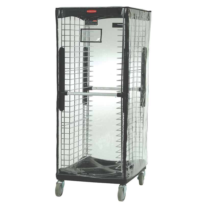 Rubbermaid FG9F9000CLR Rack Cover - Clear Vinyl