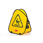Rubbermaid FG9S0700YEL Folding Safety Cone - Multi-Lingual