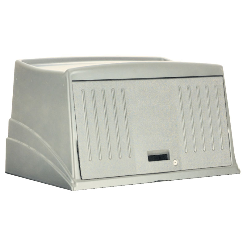 Rubbermaid FG9T0000PLAT Protective Security Hood - Platinum