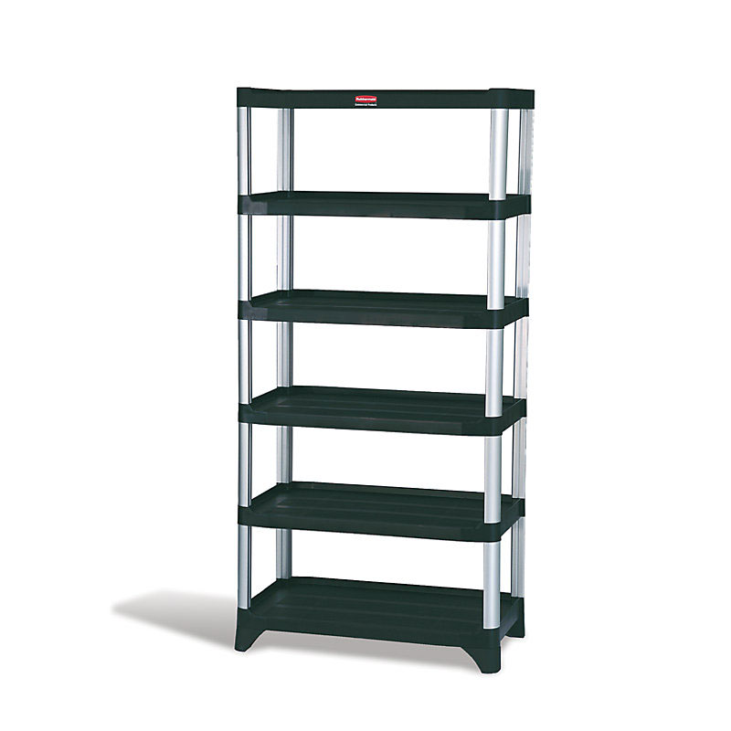"Rubbermaid FG9T4000BLA 72-3/4"" Xtra Shelving Unit -"