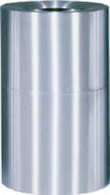 Rubbermaid FGAOT35SAPL 21-gal Designer Line Waste Receptacle - Rigid Plastic Liner, Satin Aluminum