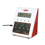 Rubbermaid FGDT2488 Pelouze Electric Timer - 4 Time Cycles, LCD Display