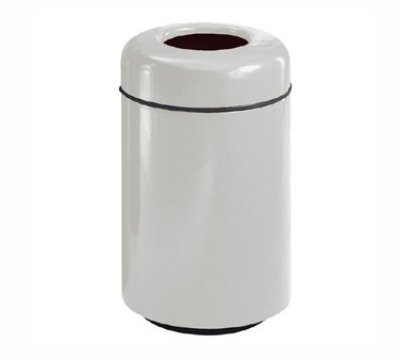 Rubbermaid FG1829TPLSBG 20-gal Paper Recycling Receptacle - Fiberglass, Warm Gray
