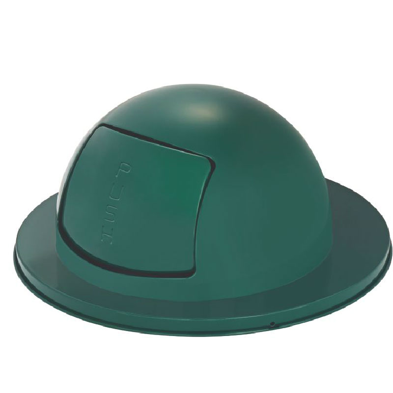 Rubbermaid FG1855EGN Dome Top - H55 Receptacles, Empire Green