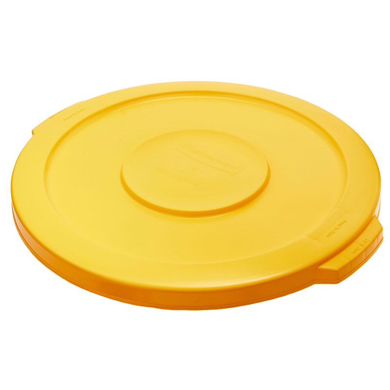 Rubbermaid FG260900YEL 16-in Round Container Lid, Yellow