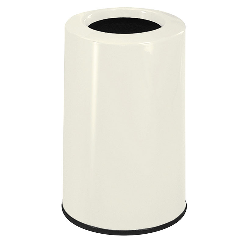 Rubbermaid FG1219LOPLAL 6-1/2-gal Waste Receptacle - Fiberglass, Almond