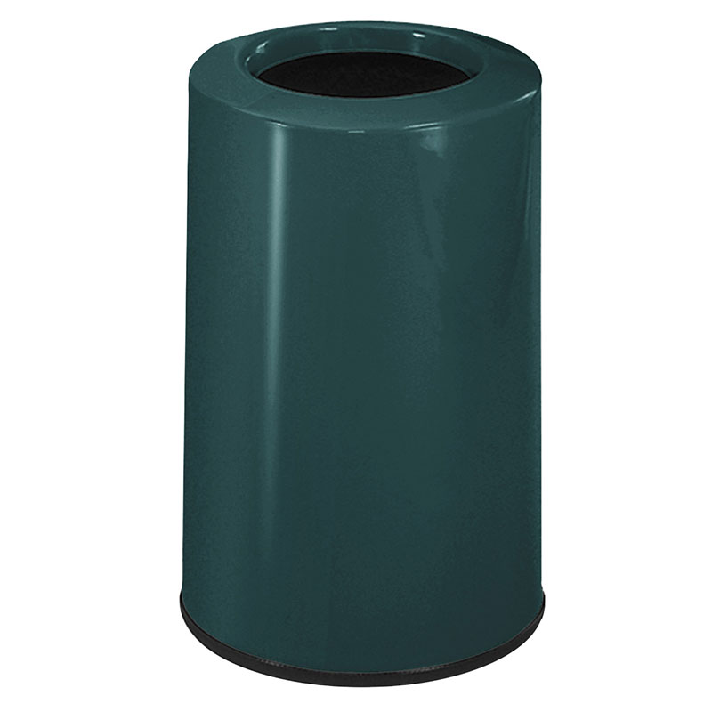Rubbermaid FG1219LOPLHGN 6-1/2-gal Waste Receptacle - Fib