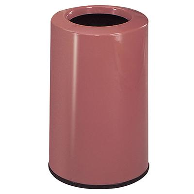 Rubbermaid FG1219LOPLRS 6-1/2-gal Waste Receptacle - Fiberglass, Rose