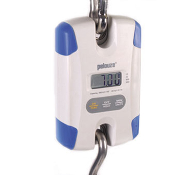 Rubbermaid FG007710000000 Pelouze Digital Hanging Scale - 100-lb x 2-oz