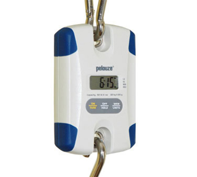 Rubbermaid FG007750000000 Pelouze Digital Hanging Scale - 50-lb x 1-oz/22-kg x 20-g