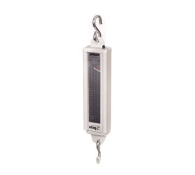 Rubbermaid FG007820000000 Pelouze Mechanical Vertical Hanging Scale - 220-lb x