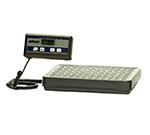 Rubbermaid FG401088 Pelouze Digital Receiving Scale - 150-lb x 0.2-lb/60-kg x 0.1-kg