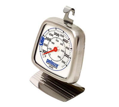 Rubbermaid FGCOT550C Dial Type Oven Thermometer - 60 to 580 F, Stainless Steel