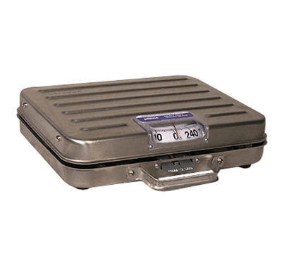 Rubbermaid FGP250SS Pelouze Receiving Scale - Dial Type, Low Profile, 250-lb x 1-l