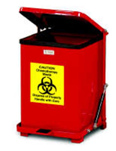 Rubbermaid FGQST7ERBRD 7-gal Silent Defend