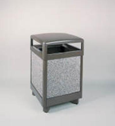 Rubbermaid FGR48HT6000PL 48-gal Aspen Waste Rece