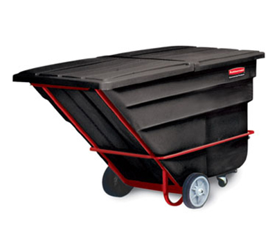 "Rubbermaid FG102600 BLA Tilt Truck - Heavy Duty, 2100-lb Capacity,  80-1/2""x"