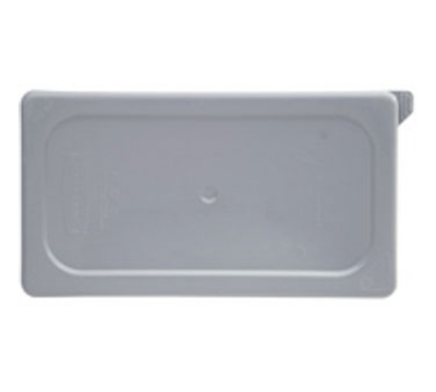 Rubbermaid FG109P29GRAY Cold Food Pan Cover - 1/6-Size, Secure Sealing, Gray