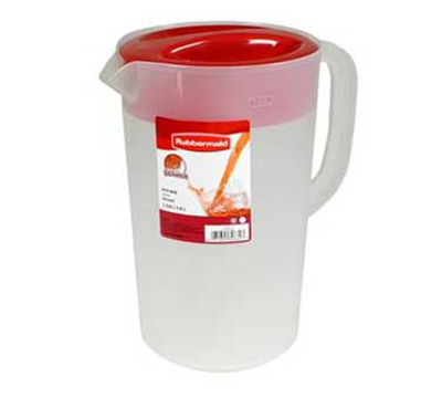 Rubbermaid 1777155 1-gal Pitcher - Polyethylene, Clear