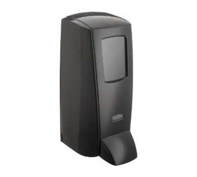 Rubbermaid 1780886 Manual Soap Dispenser - 2000-ml, Wall Mount, Black