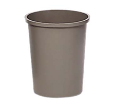 Rubbermaid FG294700GRAY 44-3/8-qt Untouchable Container - Round, Gray