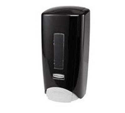 Rubbermaid 3486592 Manual Skin Care Dispenser - 1000/1300-ml Wall Mount, Black