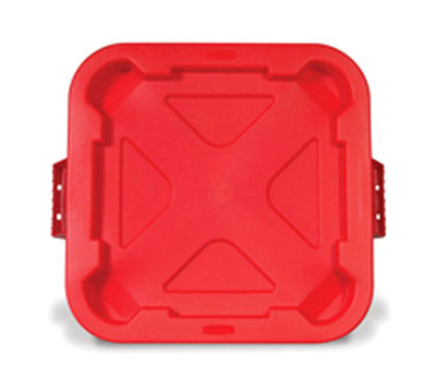 "Rubbermaid FG352900 RED 22"" Snap-Lock Container"
