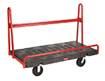 Rubbermaid FG446400BLA A-Frame Panel Truck - 30x60