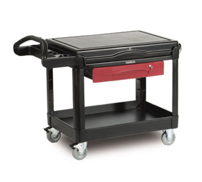Rubbermaid FG453588 BLA TradeMaster Contractor's Cart - 500-lb Capacity, Black