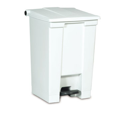 Rubbermaid FG614400YEL 12-gal Step-On Cont