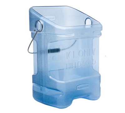 Rubbermaid FG9F5300TBLUE ProServe 5-1/2-gal Ice Tote - 25-lb Capacity, Blue