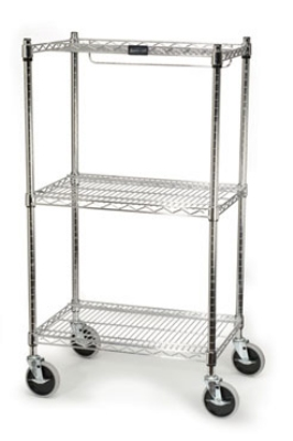 Rubbermaid FG9G5900 CHRM Safety Storage Cart - 200-