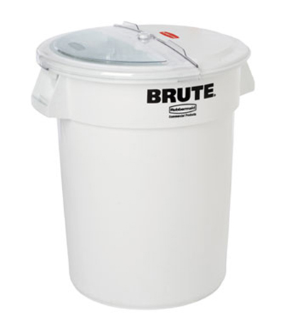 Rubbermaid FG9G7300 WHT ProSave Combo Unit - 100-cup Container, 2-cup Scoop, White