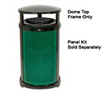 Rubbermaid FG9W4400 BLA Infinity Dome Top Frame - Round, Plastic/Metal, Black