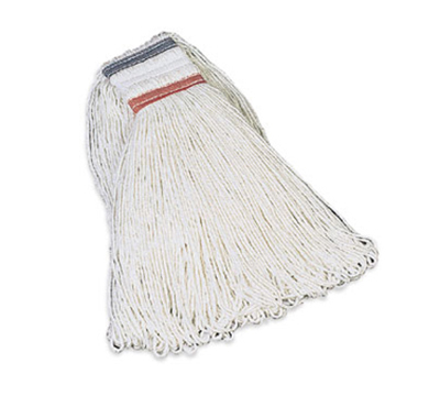 Rubbermaid FGE43600 WH00 16-oz Looped-End Mop Head - Rayon