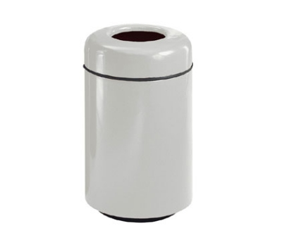 Rubbermaid FG1829TSAPLFGN Waste Receptacle 20 Gal 29 in H Open Top Plastic Liner In/Out Forest Green Restaurant Supply