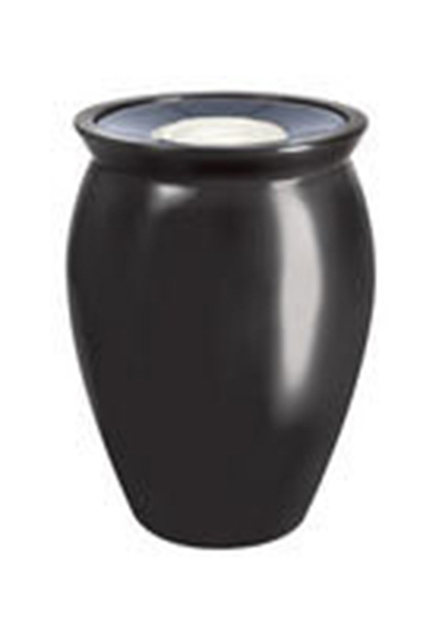"Rubbermaid FGFGK1924SUSAH Milan Ash/Trash Receptacle - Pescara Covered Top, 18-1/2x24"" Fiberglass, Sahara"