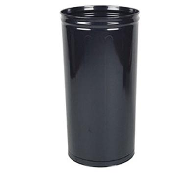 "Rubbermaid FGWB2029BK 16"" Steel Wastebasket - 80-qt Capa"