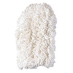 Rubbermaid FGT49900WH00 Dust Mitt Off-Floor Dusting Tool - Cotton, White