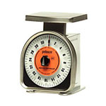 Rubbermaid FGY32R Pelouze Portion Scale - Dial Type, 32-oz x 1/4-oz, Aluminum/Stainless