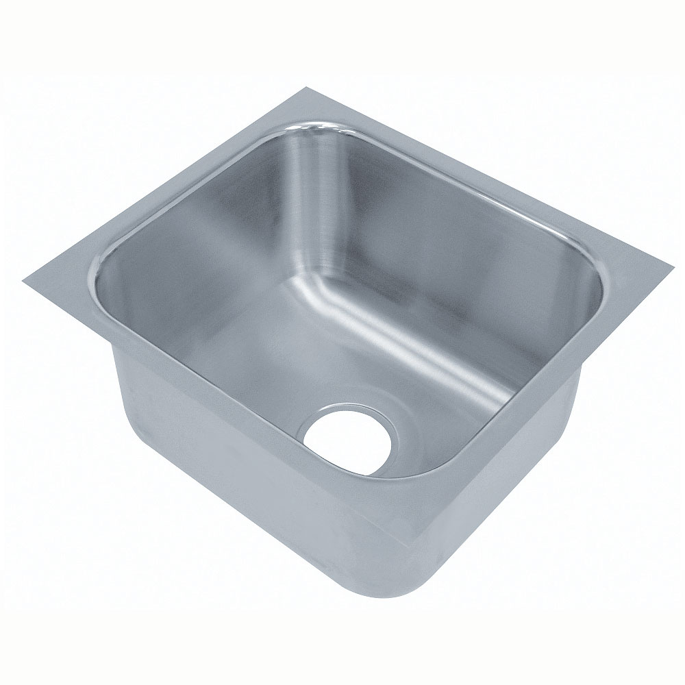 Advance Tabco 1014A-10 1 Compartment Undermount Sink Bowl Restaurant Supply