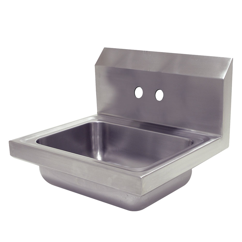 Advance Tabco 7-PS-70-EC-X Economy Hand Sink 14 x 10 x 5-in D 20-Ga. Stainless Wall Mount Restaurant Supply